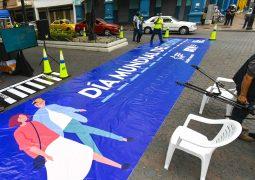 Guayaquil celebró el día mundial del peatón