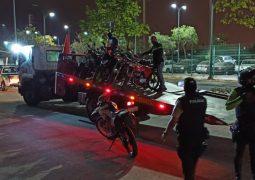 La ATM refuerza los controles nocturnos de motociclistas