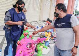 Medidas para la compra del Año Viejo en Guayaquil