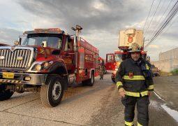 Masivo incendio se registró en Daule. ¡Bomberos de Guayaquil manejaron la situación!