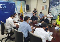 El COE Cantonal de Guayaquil se reunió este domingo para disponer nuevas medidas por aumento de casos por Covid-19