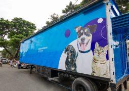 Nueva clínica móvil veterinaria en Guayaquil